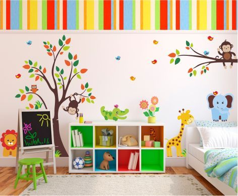 Vinilo decorativo infantil 01 vinilos decorativos decora for Vinilos decorativos pared ninos
