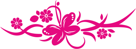 Vinilo floral butterfly